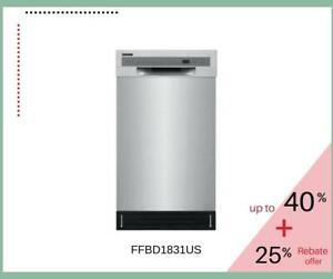 Frigidaire Front Control Built-In Tall Tub Dishwasher - FFBD1831US Toronto (GTA) Preview