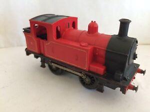 Triang R355 Red Industrial No 9 0-4-0t Tank Dummy Locomotive Hornby Pour RéDuire Le Poids Corporel Et Prolonger La Vie