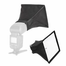 15x17cm Mini Softbox Soft Diffuser For Speedlight Flash Nikon Canon Oloong Sony