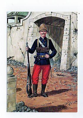 S11/2 - French foreign Legion - Legionnaire 1er reg't Etrangere tonkin Postcard