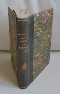 SALOME-DE-OSCAR-WILDE-ED-G-CRES-1923-DESSINS-DE-ALASTAIR-TBE