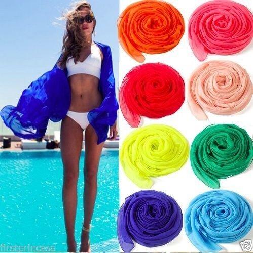 Pañuelo caftan vestido playa Sarong Pareo Beach Bikini cover up scarf