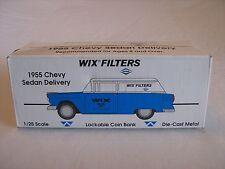 Liberty Classics Spec Cast Wix Filters 1955 Chevy Sedan Delivery  1:25 NIB