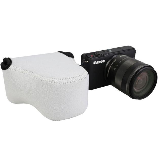 JJC Ultra Light Camera Pouch Case Bag fits Nikon 1 J1 J2 J3 J4 J5 +10-100mm Lens