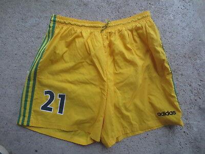 Short F.C NANTES porté n°21 ADIDAS vintage home football collection 50 XL | eBay