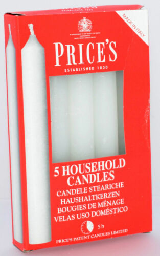 Prices 10 Candles Up To 5 Hrs Burning Time 2cm Diameter Household Candle