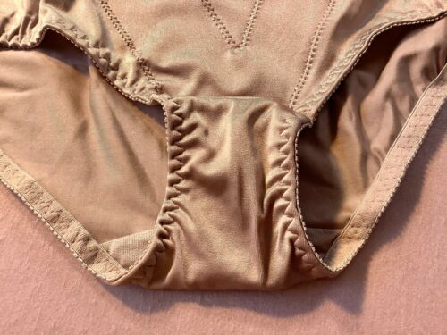 """Details about  /Women Control Panties,Briefs/""""ILUSION/""""Size L.Satin Appearance W//front Protector"""