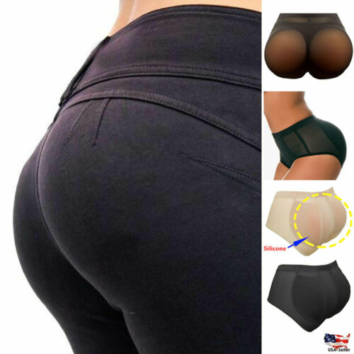 Silicone Pads Panties Buttocks Butt Enhancer body Shaper Tummy Control Boyshort