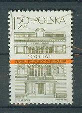 Polen Briefmarken 1976 Theater in Poznan Mi.Nr.2459