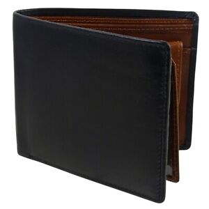 Mens-Quality-Black-and-Brown-Leather-Wallet-by-Oakridge