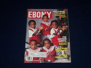 1985 DECEMBER EBONY MAGAZINE - THE GAITHER QUINTS COVER ...