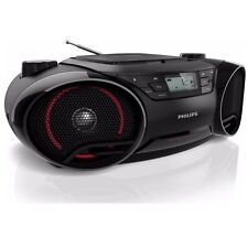 NEW-Philips AZ3811 Philips Boombox w/USB Aux In Dynamic Bass , Portable Boombox
