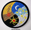 miniature 73 - Sew Iron On Round Patches Popular Badge Transfer Embroidered Funny Biker Slogan