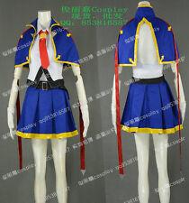 Blazblue Noel Vermillion Girls Summer Skirt Set Cosplay Costume J001