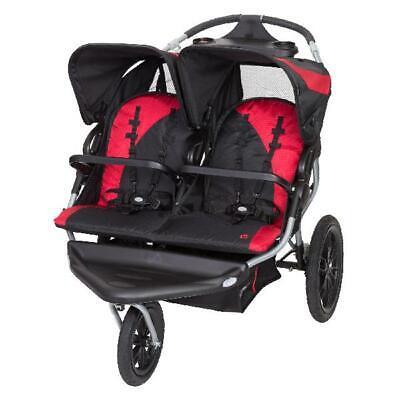 Baby Trend Navigator Lite Double Jogging Stroller, Candy ...