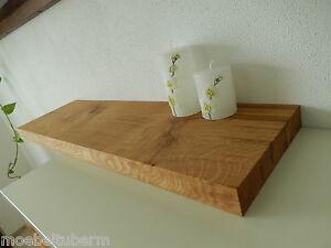 Wandboard Eiche Massiv Holz Board Regal Steckboard Regalbrett Neu Au