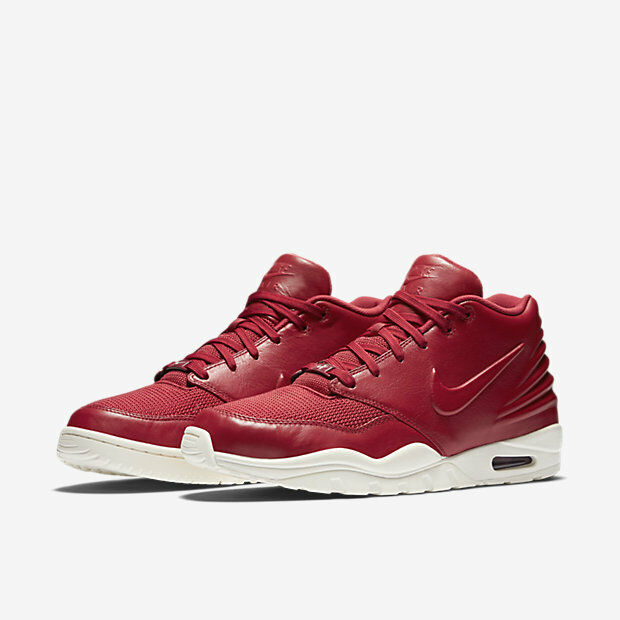 Nike air entertrainer cuoio sz palestra red vela 819854-600 trainer scarpe nuove
