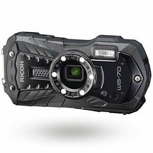 RICOH-Waterproof-Shockproof-Digital-Camera-WG-70-Black-EMS-w-Tracking-NEW