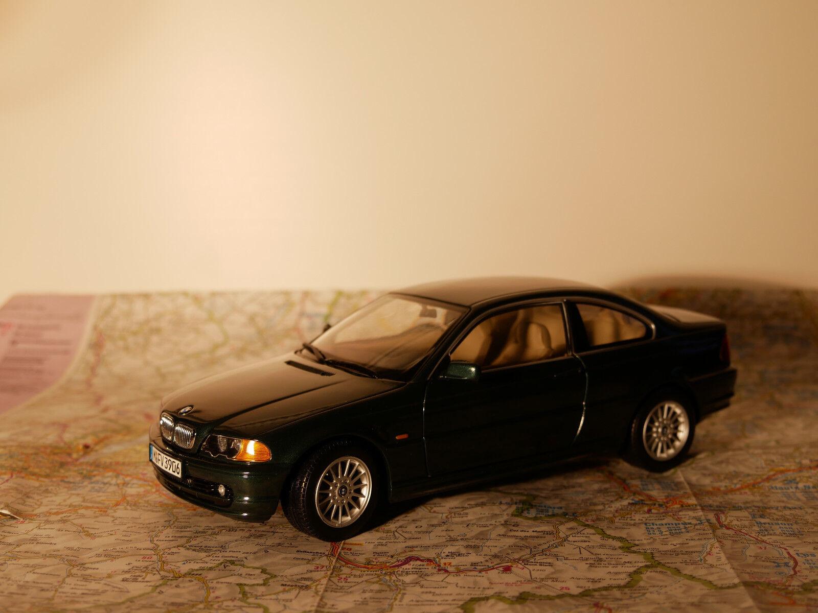 KYOSHO BMW 328Ci verde  ART.80439411466 BWM - DEALER- VERSION + BOX  1 18  NEW