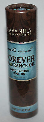 Lavanila Forever Fragrance Oil Long-Lasting Roll-On VANILLA COCONUT .27 oz **