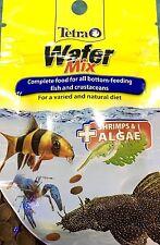 Tetra Wafer Mix Fish Treat Complete Food Catfish Pleco Shrimp Crab Aquarium Tank