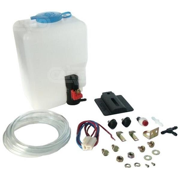 universal 12 volt windscreen washer bottle pump kit set classic vw 160186  for sale online | ebay