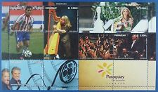 Paraguay 2015 Fußball Soccer Musik Music Harfe Orchester Kino Cinema ** MNH