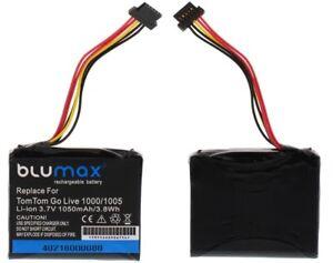 Blumax-Akku-fuer-TomTom-Go-Live-1000-1005-AHL03711018-VF1C-Accu-Batterie