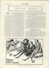 1902 mañana de Navidad Holanda Tom Browne Charles Richardson Caricaturas