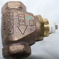 Johnson Controls Bronze Control Valve Vg7241es 1/2 Inch