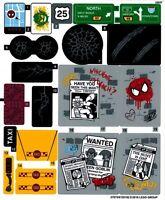 Lego 76057 - Spider-man: Web Warriors Ultimate Bridge Battle - Sticker Sheet