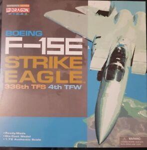 Série Ailes De Dragon Warbirds Boeing F-15e Strike Eagle 336ème Tfs 4ème Tfw 50105