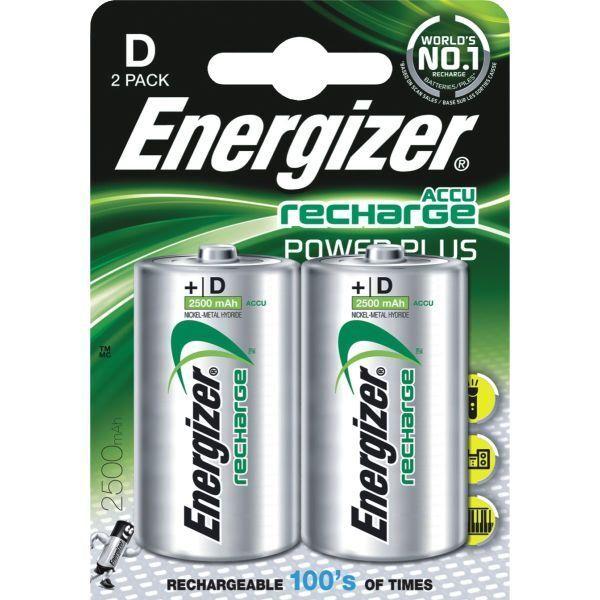 8 x Energizer Mono D Akku 2500mAh Accu    NiMH Ideal für Spielzeug Elektro | Kaufen  ec7400