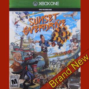 SUNSET-Overdrive-Xbox-ONE-Microsoft-territorio-libero-amp-Nuovo-Di-Zecca-Sigillato