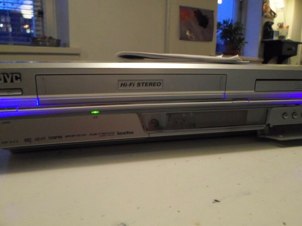 VHS videomaskine, JVC, DVD VCR Combn HR-XV3E