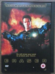 Eraser: (DVD, 1999) Arnold Schwarzenegger -  VGC