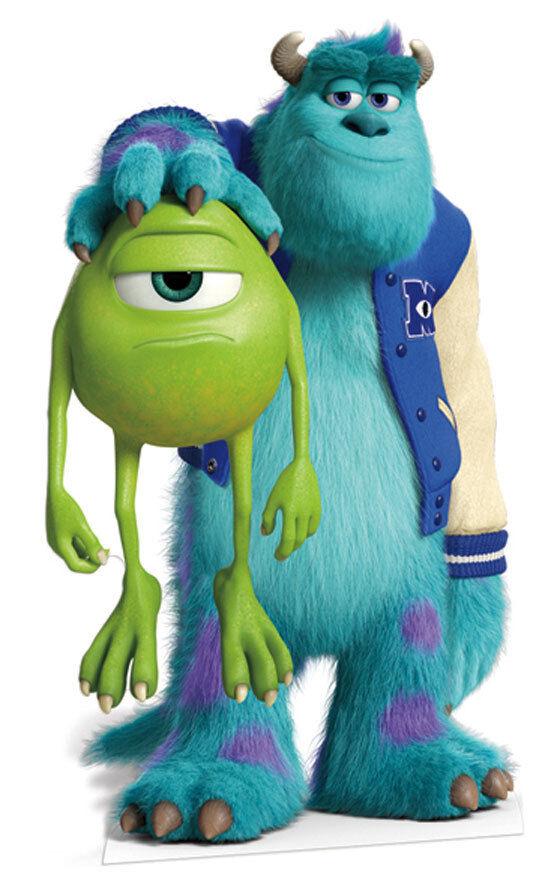 Mike y - monstruos universität inc. tama ñ o natürliche figura de wagen ó n pixar