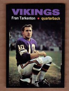 Fran-Tarkenton-039-61-Minnesota-Vikings-rookie-year-Monarch-Corona-Glory-Days-13