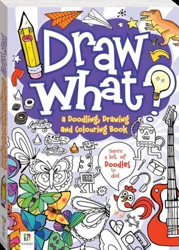 1 of 1 - Draw What! a Doodling, Drawing and Colouring Book