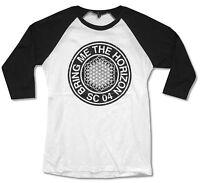 Bring Me The Horizon sc 04 Girls Juniors White Raglan Shirt Official Bmth