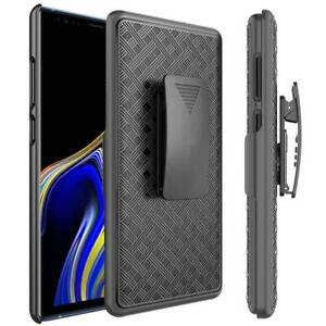 ARMOR-CASE-SWIVEL-BELT-CLIP-HOLSTER-COVER-PROTECTIVE-SLIM-L0D-for-Galaxy-Note-9