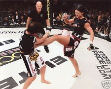 GINA CARANO MMA FIGHTER 8X10 SPORTS PHOTO (CAT)
