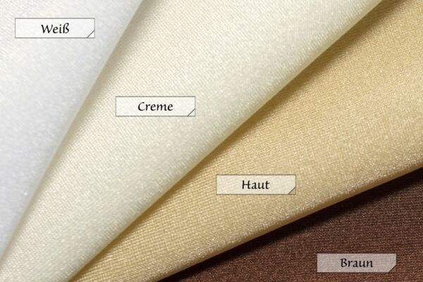 Damen Slip mit Rock ab 20cm viele Farben elastisch stretch shiny Hauteng S – XL