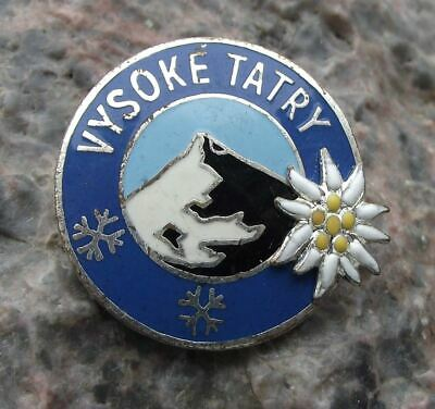 1970 FIS Nordic World Ski Championships High Vsoke Tatry Tatra Mountains Badge