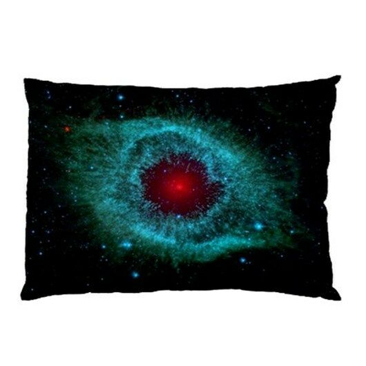 Helix Nebula Galaxy Outer Space Universe Two Side Bed Pillow Case