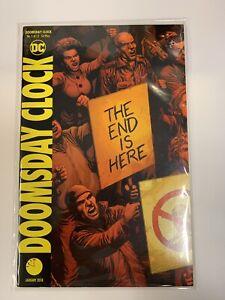 Doomsday Clock 1 First Print 2018 Dc Comics Watchmen Hbo Series