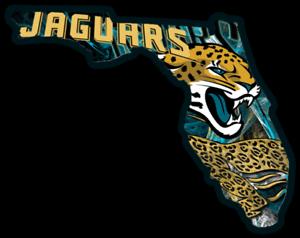 Jacksonville Jaguars Foto Magnet mit Logo,NFL Football,Team Gründungsjahr