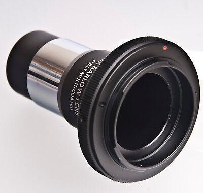 """1.25 in a Canon EOS EF EF-S Telescopio T-Adaptador Anillo 1.25/"""" Filtro Celestron approx. 3.17 cm"""