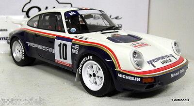 Otto 1/18 Scale OT173 Porsche 911 SC Gr.B Tour de Corse rally 85 Resin Model Car
