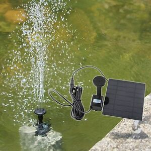 New-Solar-Panel-Powered-Water-Feature-Pump-Garden-Pool-Pond-Aquarium-Fountain